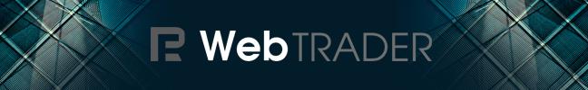 Web Trader di RoboForex